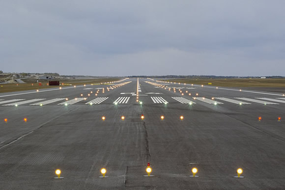 Elegant Runway Lights
