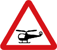 Heliport Signs